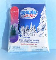 Souvenir Instant Snow SNO-400SBNDED  Includes Snowboard Magnet